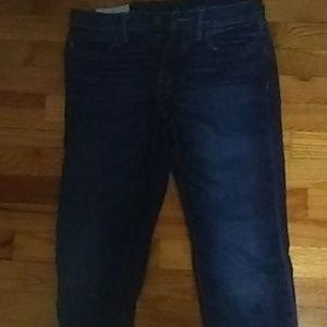 Abercrombie blue jeans